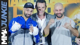 Bare Knuckle Fighting Championship 6 post-fight press conference