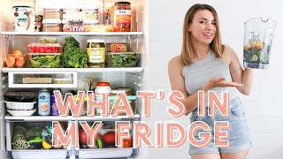 What's In My Fridge + Healthy Food Staples