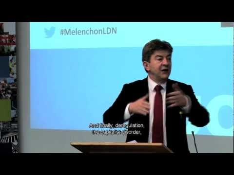 Jean-Luc Mélenchon: 'I am very dangerous' [with English subtitles]