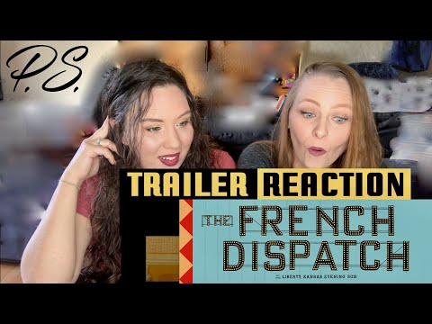 The French Dispatch Official Trailer REACTION - Wes Anderson