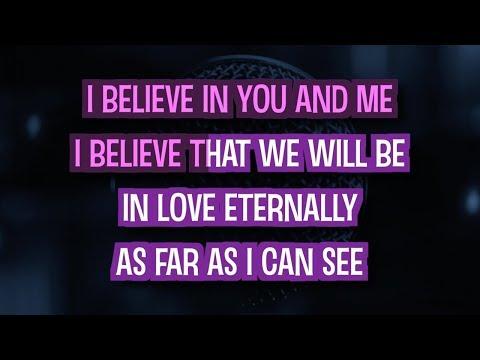 I Believe In You And Me (Karaoke) - Whitney Houston