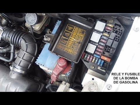 Relé Y Fusible De La Bomba De Gasolina