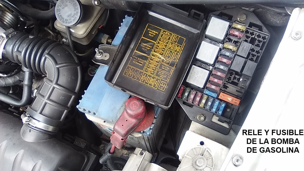1994 Honda Accord Wiring Diagram Electric Rice Cooker Relé Y Fusible De La Bomba Gasolina - Youtube