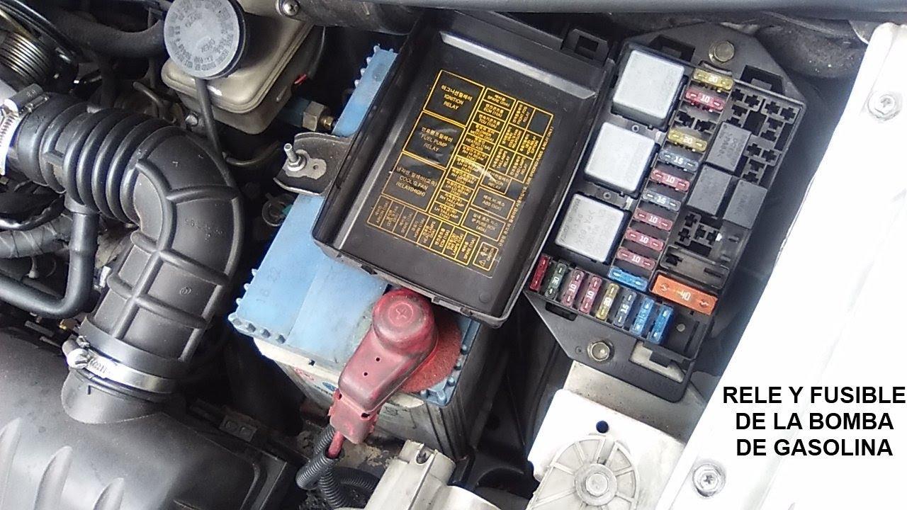 hight resolution of rel u00e9 y fusible de la bomba de gasolina youtube 2014 jeep compass fuse box diagram