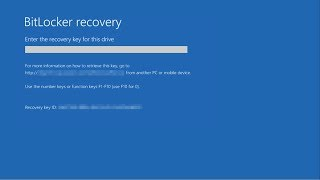 Finding a lost Bitlocker Recovery Key