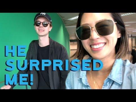My Boyfriend Surprised Me, Europe Vlog Part 2  Vlog#61  Aimee Song