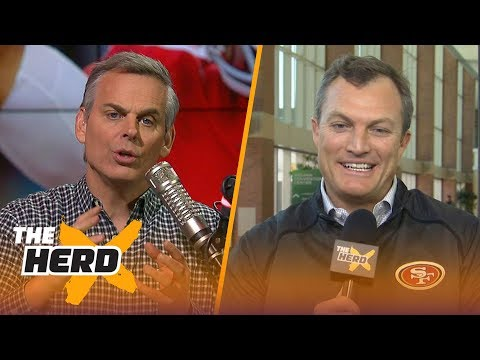 John Lynch on the 2018 NFL draft, Talks potential targets | THE HERD