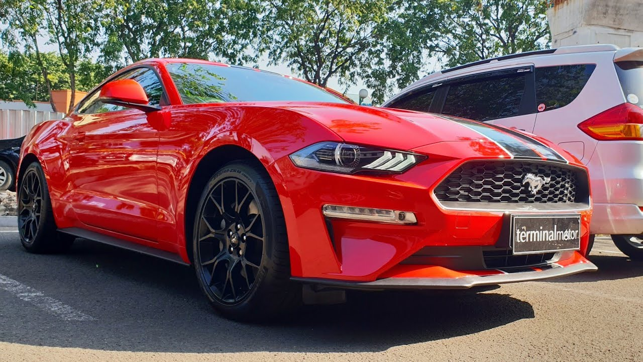 Ford mustang 2 3 ecoboost 2018 facelift in depth review indonesia