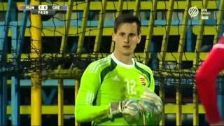 Hungary U21 - Greece U21 2:1 European Qualifiers 2017 Highlights