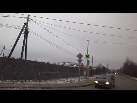 Лобня, автобус 23, участок Поворот (Красная Поляна) - Круглое озеро