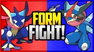 Greninja vs Ash-Greninja | Pokémon Form Fight
