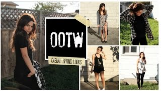 Outfits of the Week (OOTW) Inexpensive Casual looks for Spring Break 2015
