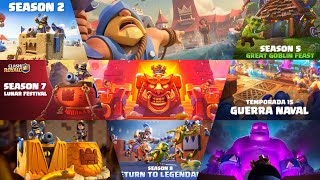 Download lagu ❌TODAS LAS TEMPORADAS DE CLASH ROYALE 1-20 (Seasons 1-20) 🔥🌎 / Nuevos juegos de clash royale