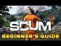SCUM BEGINNER'S GUIDE   BASIC CRAFTING & STARTING TIPS   TweaK_GG