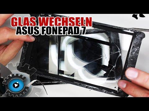 Asus Fonepad 7 Glas Digitizer Wechseln Tauschen unter 20€ Reparieren [Deutsch/German]