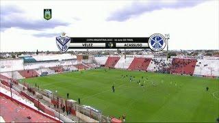 Fútbol en vivo. Acassuso - Velez. Copa Argentina. 16avos. 2015. FPT