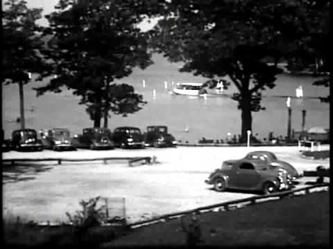 Vintage New Hampshrie State Parks Film from the 1930s (black and white version)