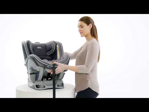 Chicco NextFit - Installing With Seat Belt: Rear-facing
