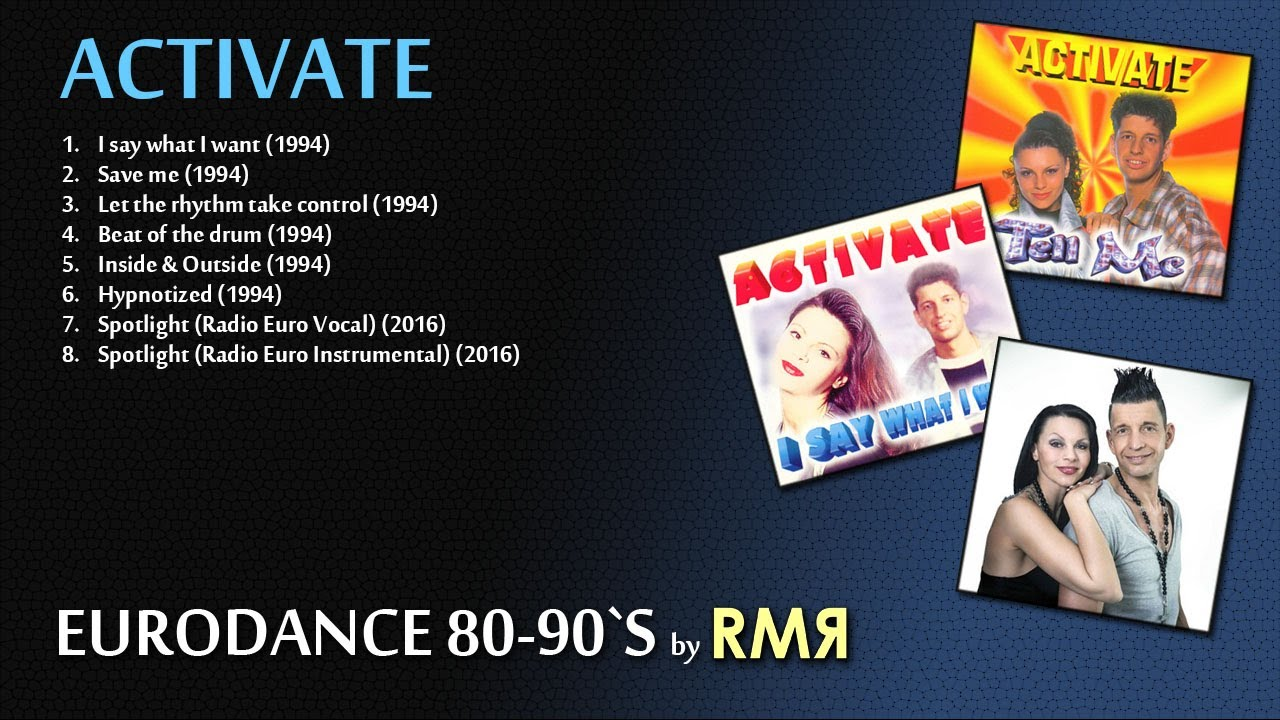 Download ACTIVATE • BEST HITS (EURODANCE 80-90's by RMR)