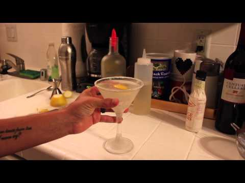 [archive] ASMR Mixology Episode 22: Lemon Drop Cocktail