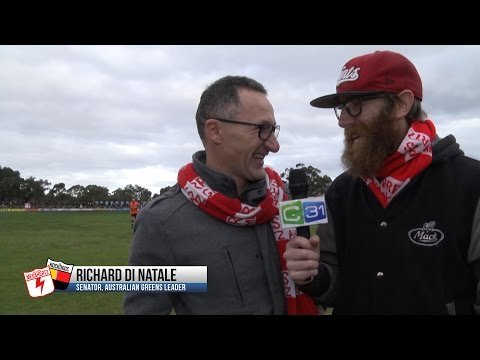 Richard Di Natale Interview - 2016 Melbourne Community Cup