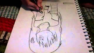 how to draw anime emo girl