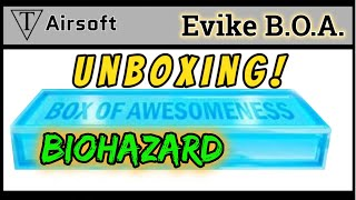 Unboxing Evike's Box of Awesomeness Biohazard edition