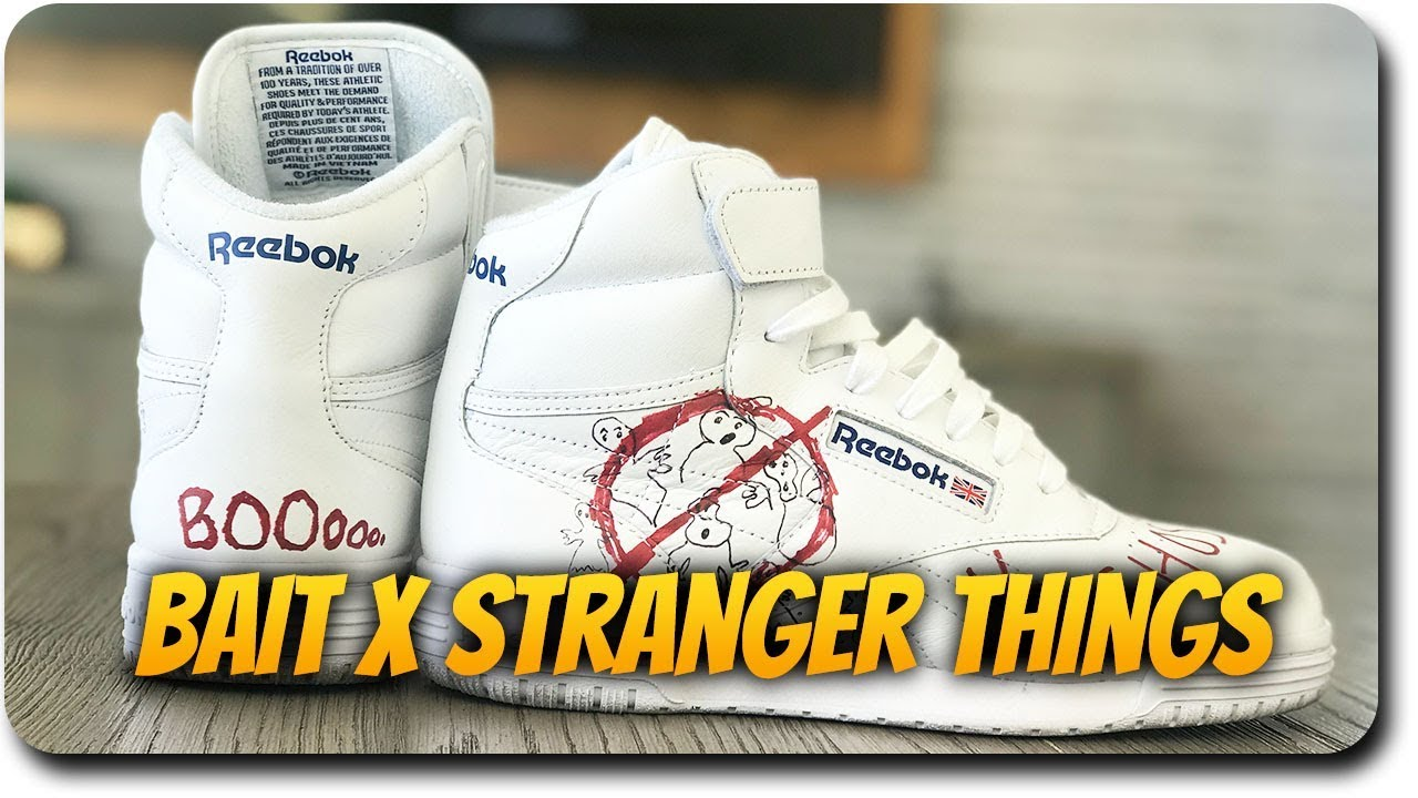 BAIT x Stranger Things x Ghostbusters x Reebok Collab Sneaker  Unboxing Impressions 8aae9ee9c