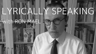 "Lyrically Speaking with Ron Mael: ""Self-Effacing"""