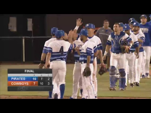Oklahoma State Cowboy Baseball vs.Seton Hall