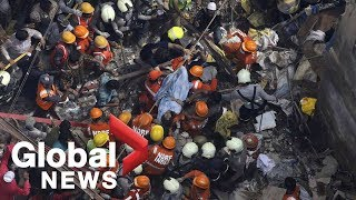 Mumbai building collapse: Work continues to free those trapped in the rubble