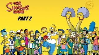 THE SIMPSON GAME PART 2  HD USA [English Gameplay Walkthrough] (no commentary)