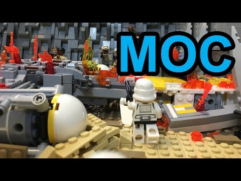 LEGO Star Wars: The Rescue on Jakku MOC