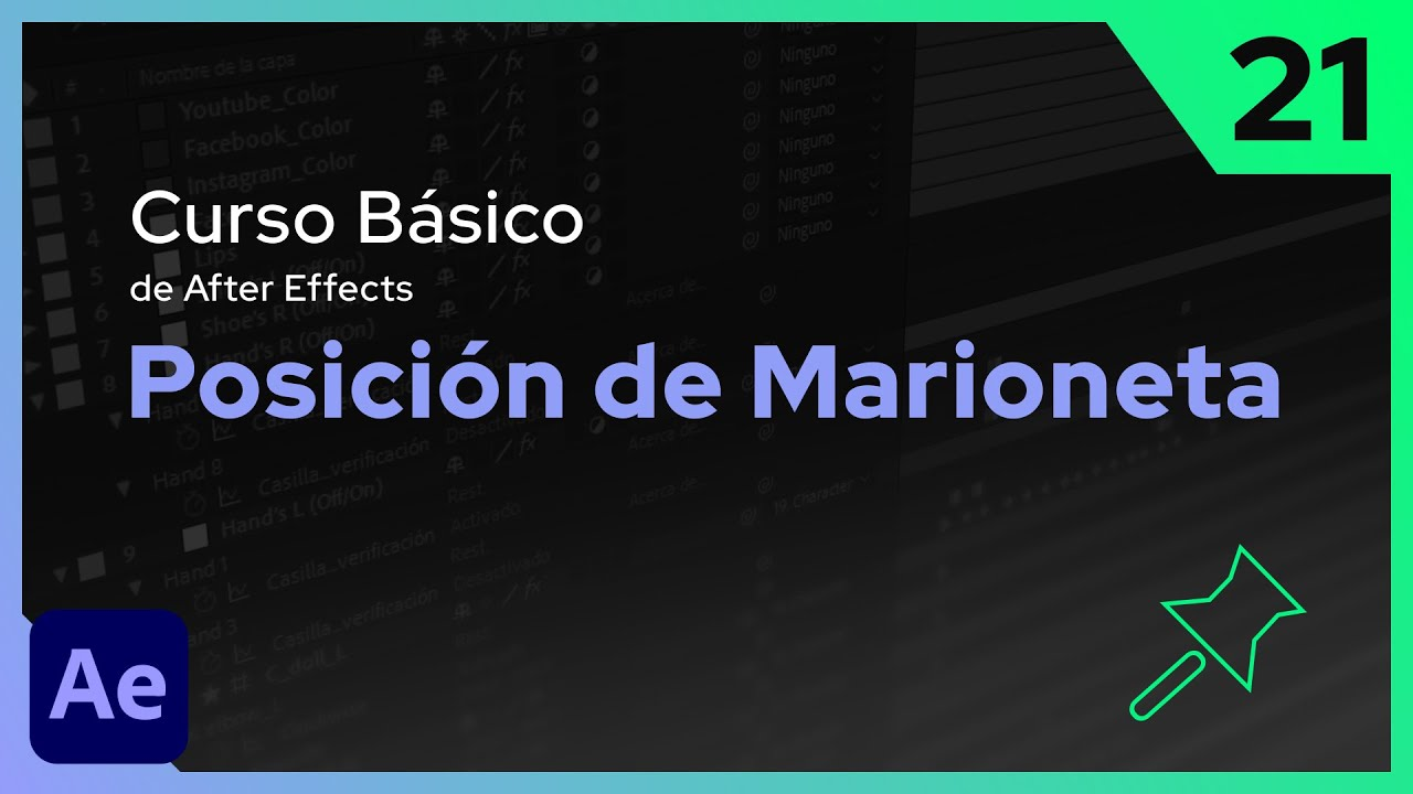 Posición de Marioneta | After Effects - Tutorial