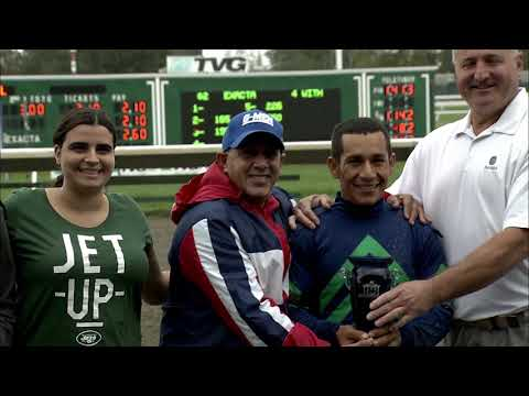 video thumbnail for 10-06-19 Monmouth Park Race 03