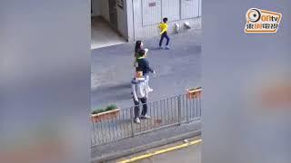 Publication Date: 2017-12-04 | Video Title: 網民熱話:你站在橋下丟煙頭 食環就在樓上看你