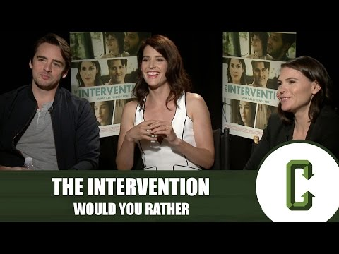Cobie Smulders and the Cast of The Intervention Play Would You Rather
