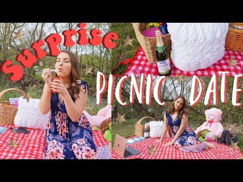 Surprising My Boyfriend With A Picnic Date | Tarrah Hodge