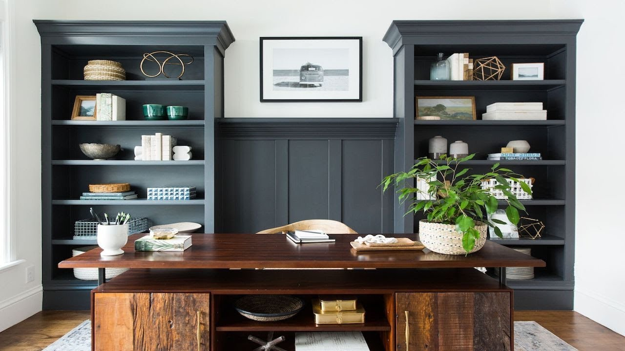 How to Style Dark Built-Ins