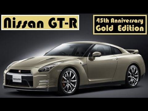Nissan Gt R 45th Anniversary Gold Edition With Price