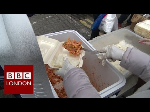 Sikh charity feeding homeless people in London