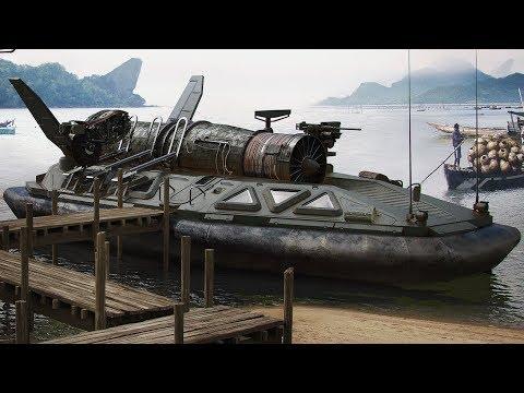 10 Невероятных Кораблей