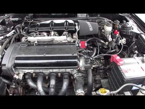 Toyota Celica T20 1.6 20V Blacktop 4AGE noise ;)