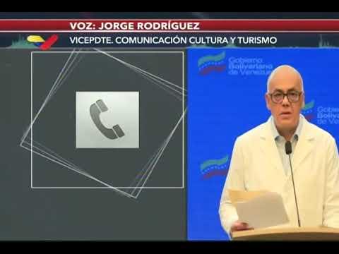 Reporte Coronavirus Venezuela, 18/07/2020: Jorge Rodríguez informa de 292 casos y 3 fallecidos