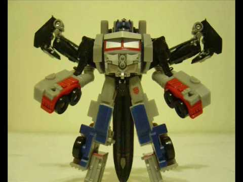 Transformer ROTF Optimus Prime + jetfire legends class stop motion