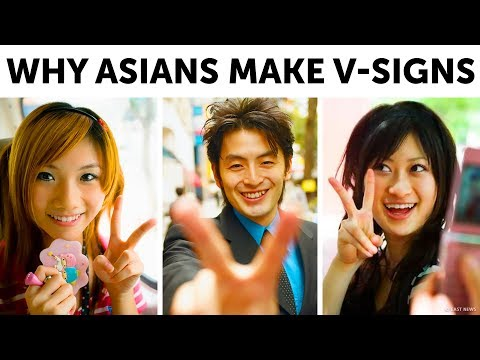 Why Asians Make V-Signs in Photos