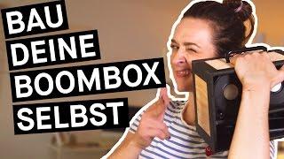 How to: So baut ihr euch selbst eine DIY-Boombox fürs Handy || PULS Reportage