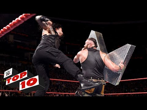 Top 10 Raw moments: WWE Top 10, July 31,...