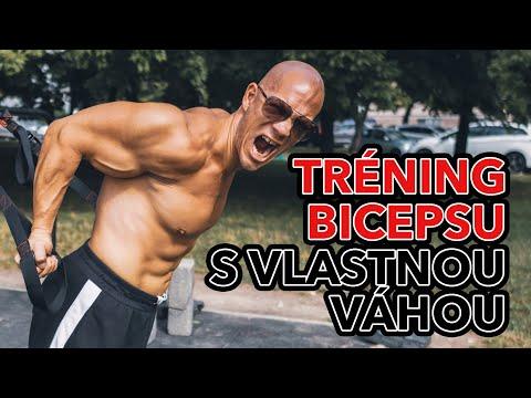 Biceps s vlastnou váhou. Cviky, tipy a tréningové metódy na tréning bicepsu s vlastnou váhou.