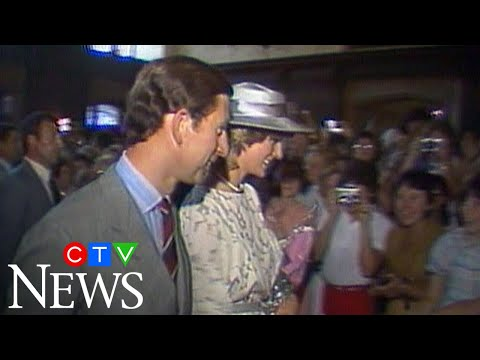 1983: Prince Charles and Diana's visit to Ottawa